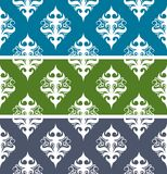 Seamless vector abstract vintage pattern. Royalty Free Stock Images