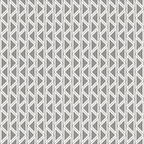 Seamless vector abstract zig zag pattern. symmetrical geometric repeating. Background with decorative rhombus, triangles. Simle graphic design for web Royalty Free Stock Images