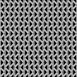 Seamless vector abstract zig zag pattern. symmetrical geometric repeating background with decorative rhombus, triangles. Simle gra. Phic design for web Royalty Free Stock Photos