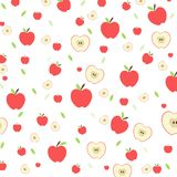 Seamless vector apple fruit pattern.vector, illustration. Seamless vector apple fruit pattern.vector, illustration Royalty Free Stock Photography