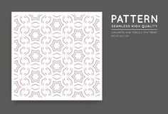 Seamless Vector Arabian Style Abstract Pattern Royalty Free Stock Images