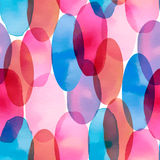 Seamless vector artistic design watercolor stain pattern Stock Photo