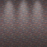 Seamless vector background of a brick wall Stock Photos