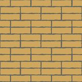 Seamless vector background of the brick wall Royalty Free Stock Photos
