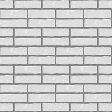 Seamless vector background of the brick wall Royalty Free Stock Photography