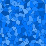 Seamless Vector Background from cells. Irregular Mosaic backdrop. Voronoi pattern Royalty Free Stock Photography