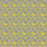 Seamless vector background. Floral pattern. Stock Photo