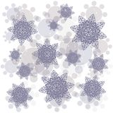 Seamless vector background with flower Royalty Free Stock Photography