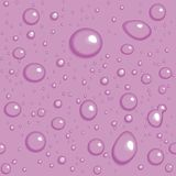 Seamless vector background. Purple drops Stock Images