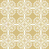Seamless Vector Baroque Pattern Royalty Free Stock Images