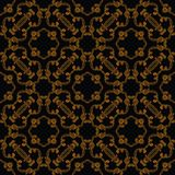 Seamless vector in baroque and rococo style Royalty Free Stock Photos