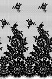 Seamless Vector Black Lace Royalty Free Stock Photo