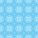Seamless vector blue and white pattern Stock Photo