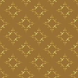 Seamless vector brown texture. With figures Stock Images