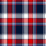 Seamless vector checkered pattern Royalty Free Stock Image
