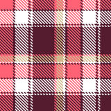 Seamless vector checkered pattern Stock Photos