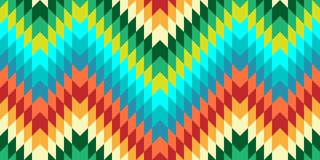 Seamless Vector Chevron Pattern for Textile Design Royalty Free Stock Photography
