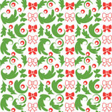 Seamless vector Christmas pattern Royalty Free Stock Photography