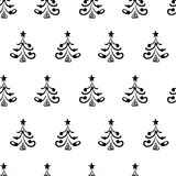 Seamless vector christmas pattern Stock Photo