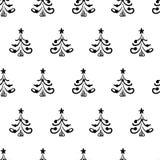 Seamless vector christmas pattern Stock Photo
