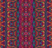 Seamless vector colorful Geometric print Stock Photos