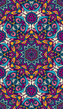 Seamless vector colorful Geometric print Royalty Free Stock Photography