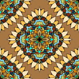 Seamless vector colorful pattern. Stock Photography