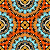 Seamless vector colorful pattern. Stock Image