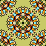 Seamless vector colorful pattern. Stock Photos