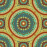 Seamless vector colorful pattern. Royalty Free Stock Photography