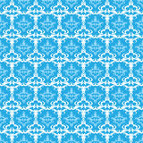 Seamless Vector Damask Pattern Royalty Free Stock Image