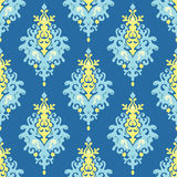 Seamless Vector Damask  pattern Royalty Free Stock Photography