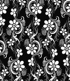 Seamless vector damask wallpaper Royalty Free Stock Photo