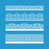 Seamless Vector Decorative Vintage Borders Stock Photos