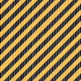 Seamless vector diagonal black and white stripes on yellow background. Seamless vector diagonal black and white stripes on yellow background Stock Images