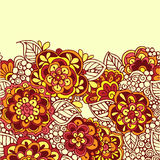 Seamless vector doodle background Stock Image