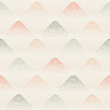 Seamless vector dotted rhombuses pattern Stock Image