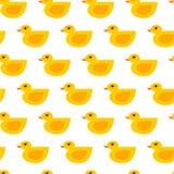 Seamless vector duck pattern vector illustration