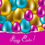 Seamless vector easter background Royalty Free Stock Photo