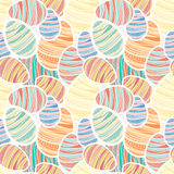 Seamless vector easter pattern Royalty Free Stock Images