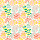 Seamless vector easter pattern Royalty Free Stock Photography