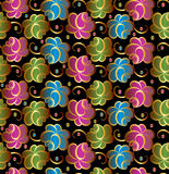 Seamless vector floral background Royalty Free Stock Photo