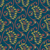 Seamless vector floral paisley pattern Stock Photos