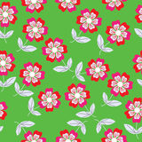 Seamless Vector Floral Pattern And Seamless Patter Royalty Free Stock Images