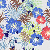 Seamless vector floral pattern. For easy making seamless pattern just drag all group into swatches bar. Stock Photography
