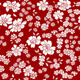 Seamless vector floral pattern in retro style Royalty Free Stock Photos