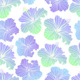 Seamless vector floral patterns Stock Photography
