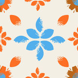 Seamless  vector flower  pattern Royalty Free Stock Photography