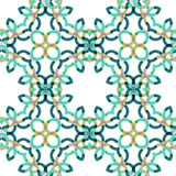 Seamless vector geometric abstract pattern Royalty Free Stock Image