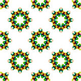 Seamless vector geometric abstract pattern Stock Photo